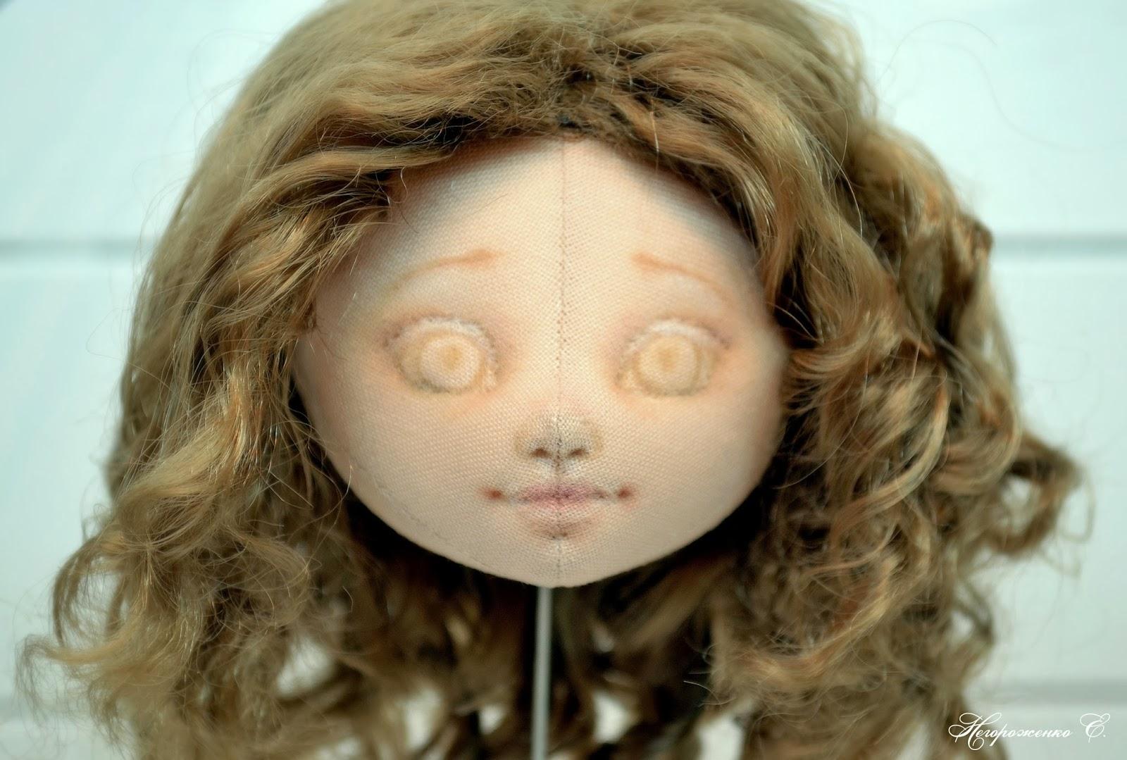 Глазки куклы мастер класс