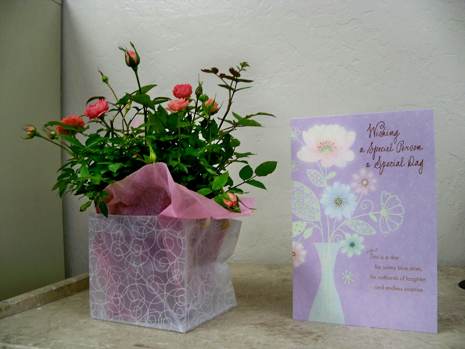 Birthday flowers flowers world for the ladys birthday who likes attention send a floral arrangement with a vase and balloon so it is clear to everyone that it is her birthday izmirmasajfo