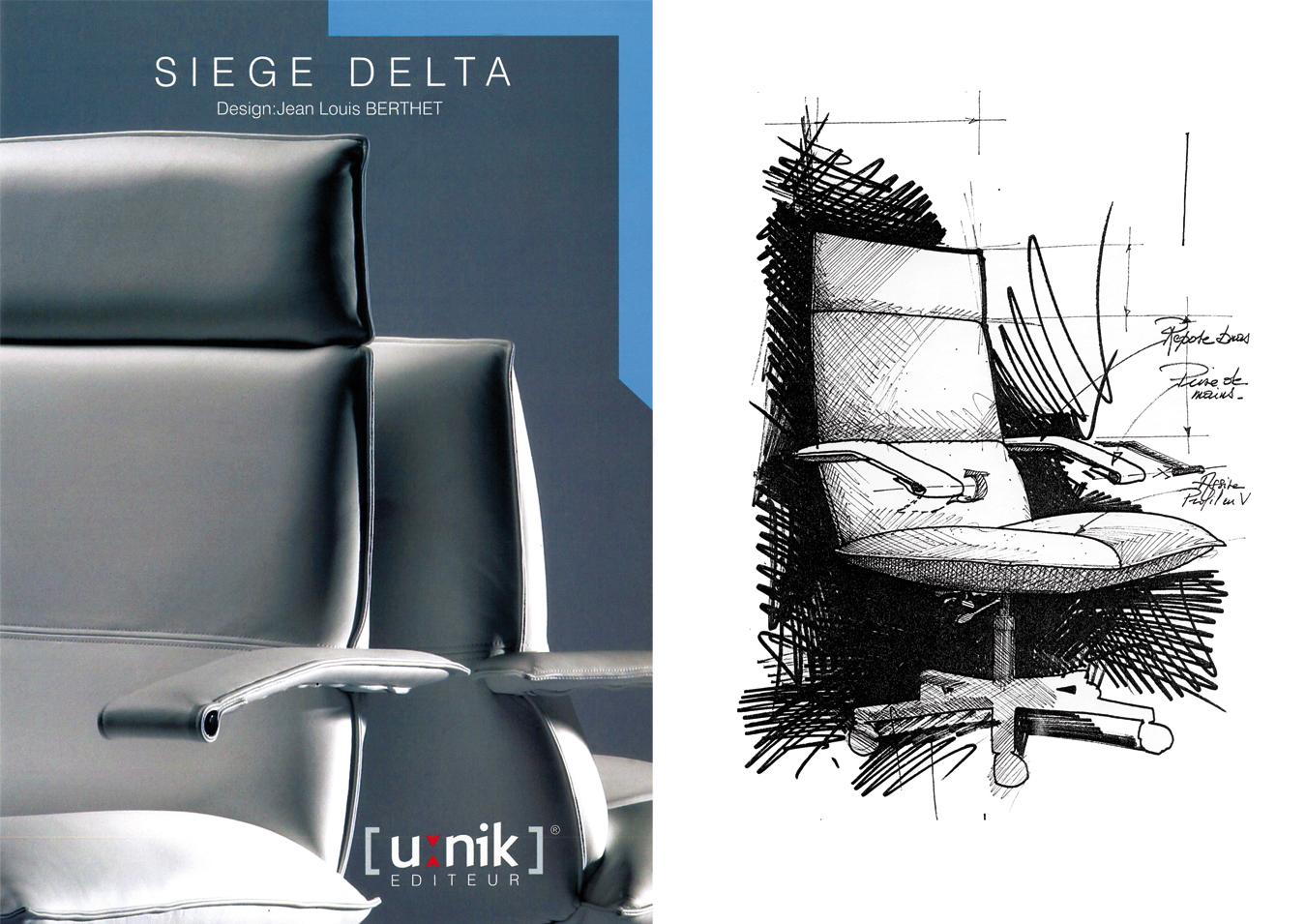Fauteuil de bureau confortable et design - Chaise de bureau design et confortable ...