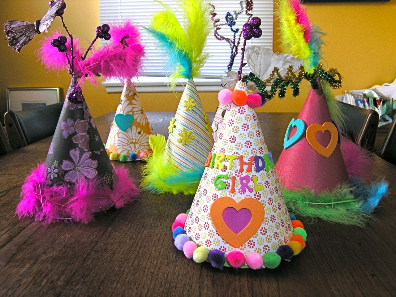Fun toddler birthday party craft ideas mom 39 s for How to decorate a hat for a tea party