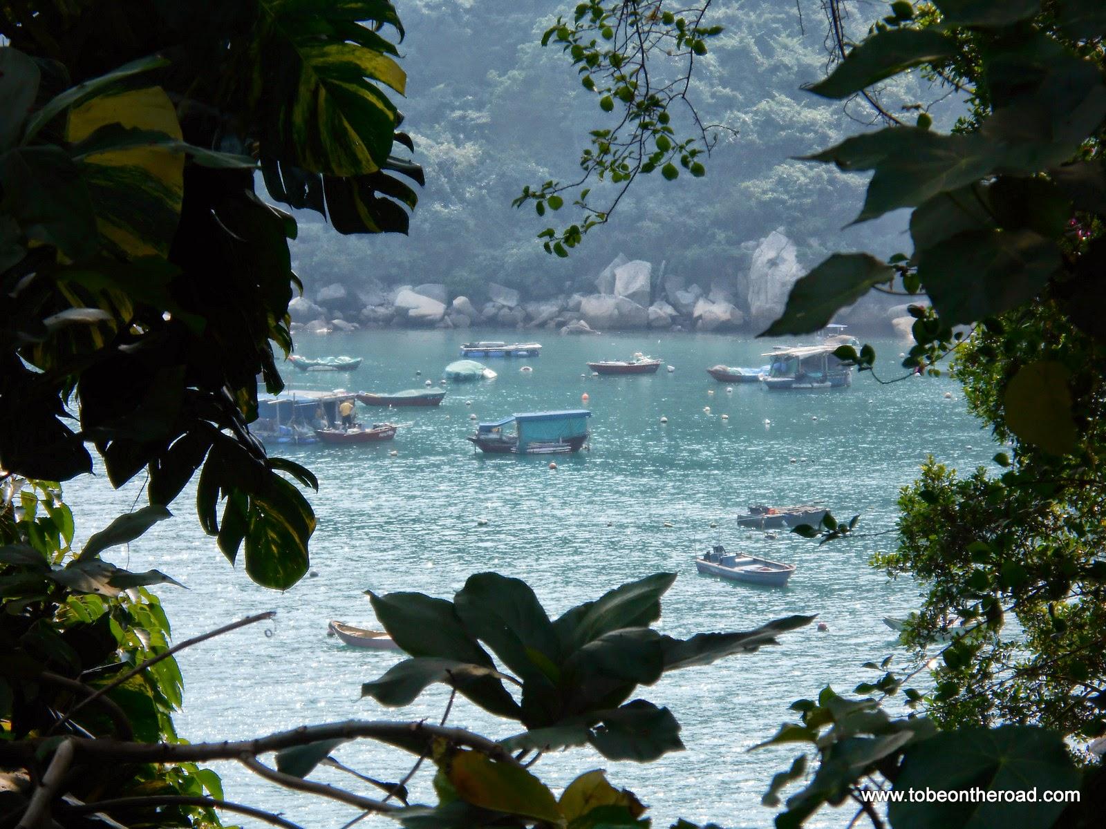 Fishing Village In Stanley,Hongkong