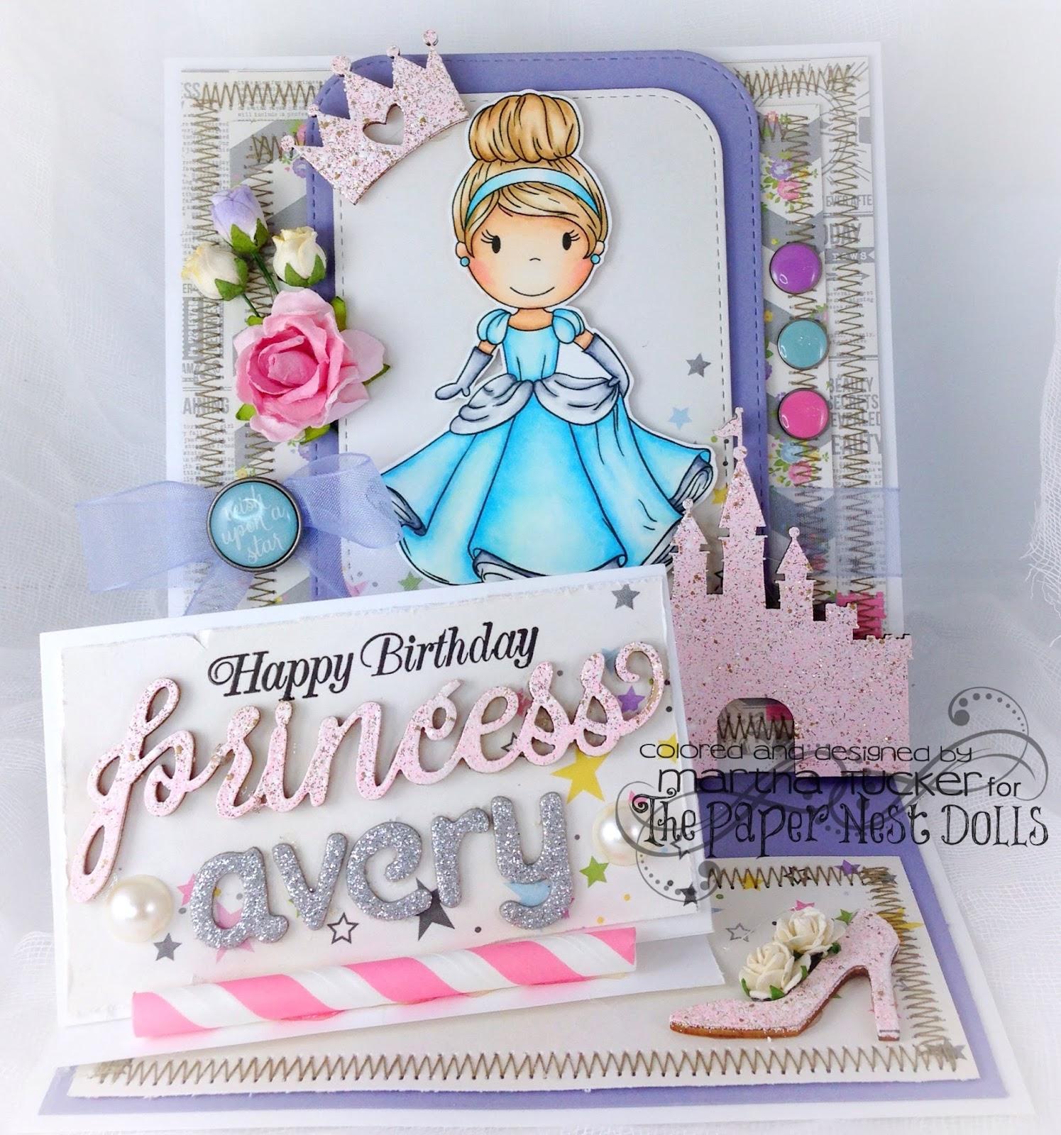 The Paper Nest Happy Birthday Princess Avery