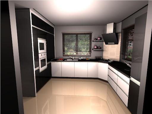 Home Sweet Home Biało czarna kuchnia -> Kuchnia Bialo Czarna Z Oknem