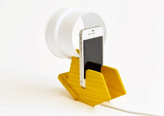 Lamparas de Mesa con Telefonos Moviles, Ideas Originales y Ecoresponsables