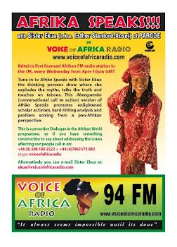 Afrika Speaks with Sister Ekua