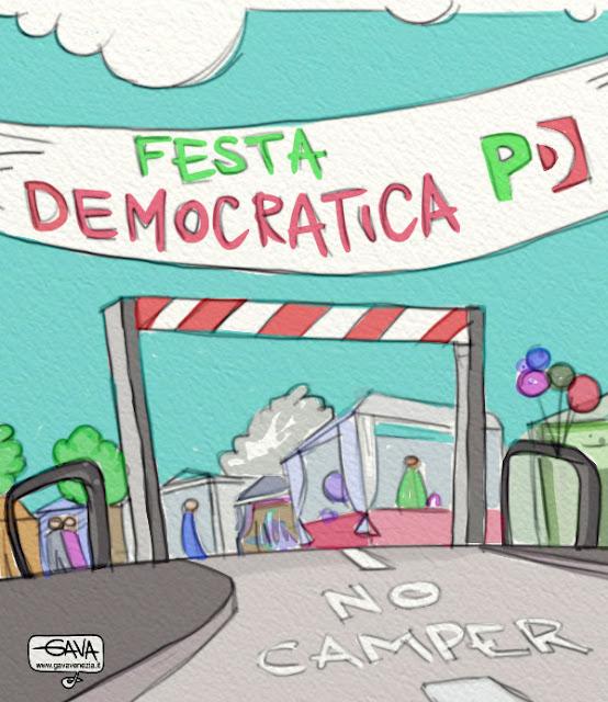 Gava satira vignette PD Renzi rottamatori
