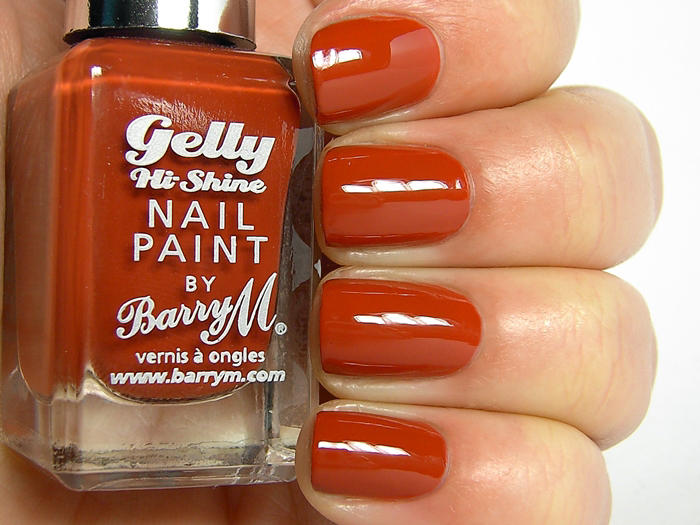 Barry M Gelly Nail Paint - Paprika