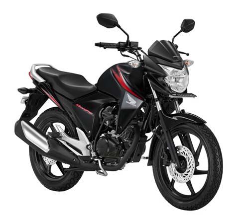 New Honda Mega Pro Black
