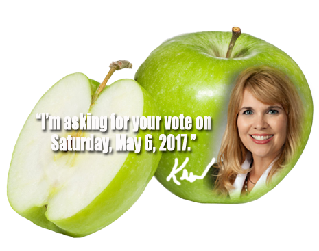 Kristin Tassin is asking for your vote in the race for FBISD Position #4 on Saturday, May 6, 2017