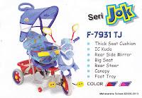 Sepeda Roda Tiga Family F7931TJ Kuda Seri Jok