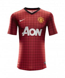 jersey / seragam baru Manchester United untuk musim 2012/2013