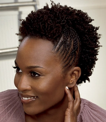 Natural Hairstyle for Short Hair