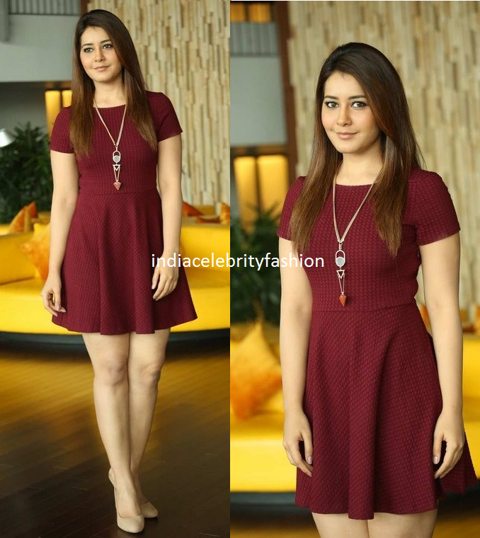 Raashi Khanna in Zara Dress