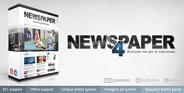 Newspapers WordPress Theme v4.6.1