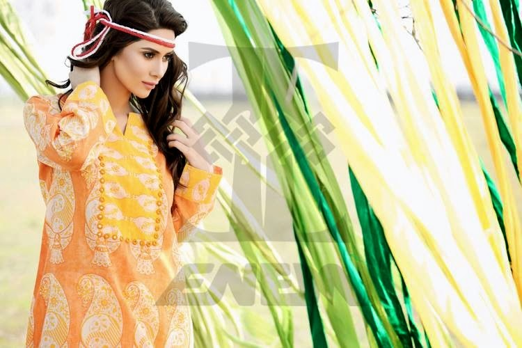 ZahraSaeedSpring SummerCollection 03  - Zahra Saeed Spring-Summer 2014 Collection