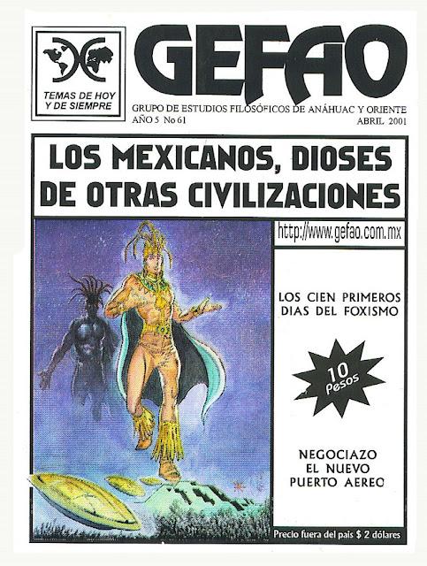 LOS MEXICANOS DIOSES DE OTRAS CIVILIZACIONES REVISTA GEFAO