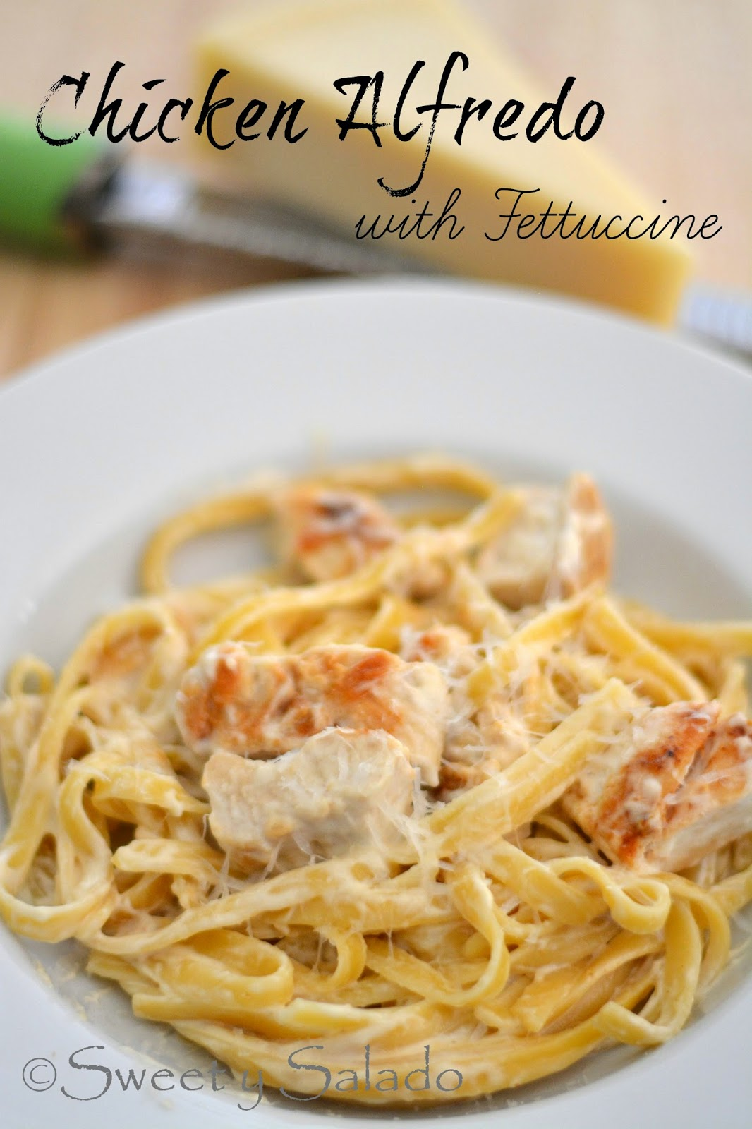 The Next Recipe That I Learned How To Make Was Chicken Alfredo With  Fettuccine I Really Wanted To Learn How To Make A Good Alfredo Sauce That  I Could Serve
