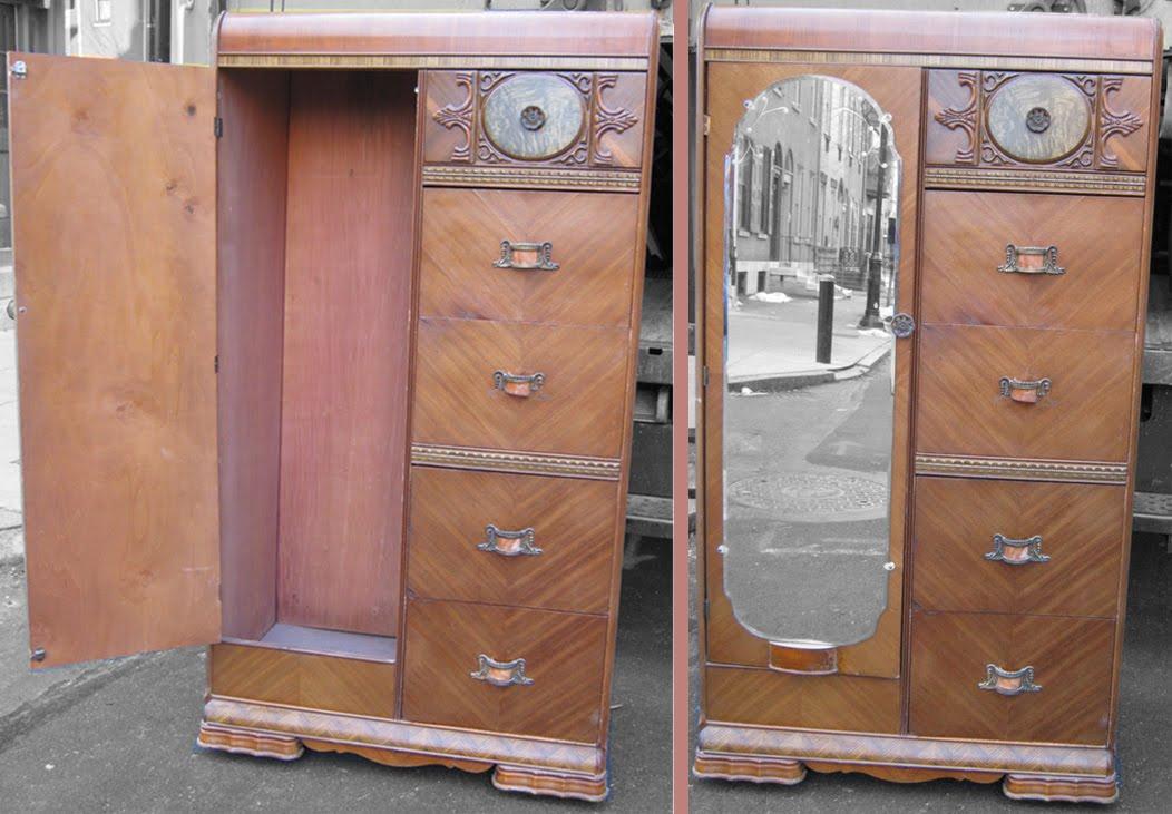Uhuru Furniture & Collectibles: Art Deco Bedroom Set SOLD