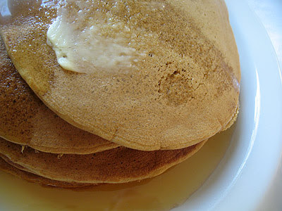 buckwheat pancakes breakfast