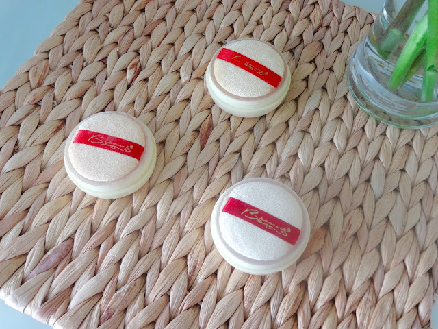 Bésame Brightening French Vanilla Powder review, Bésame Brightening Vanilla Powder review, Bésame Brightening Violet Powder review