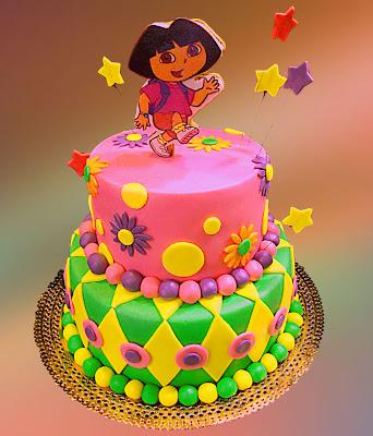 Dora Birthday Cakes