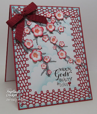 "ODBD ""Sentiments Collection 1"" Card Designer Angie Crockett"