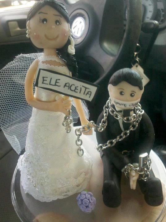 Enfeite De Bolo ~ Vania Sampa Enfeite de bolo de casamento