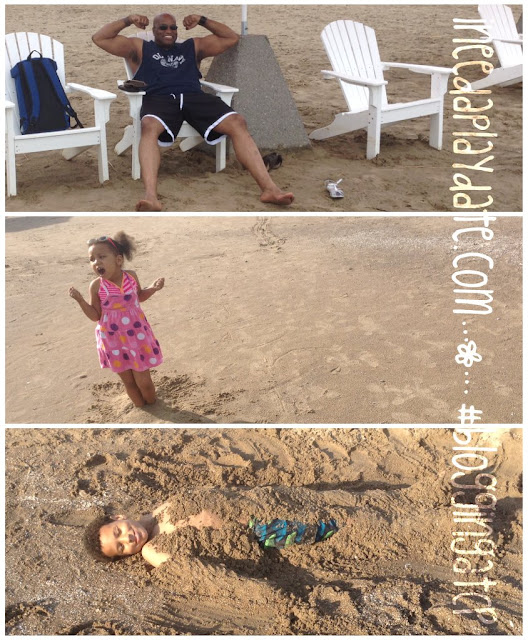 Fun in the sand @CedarPoint Hotel Breakers #bloggingatCP