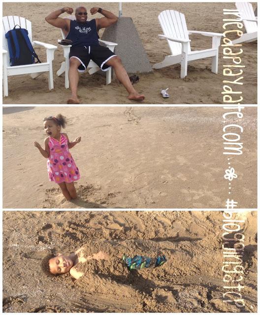 Fun in the sand @CedarPoint Hotel Breakers #bloggingatCP