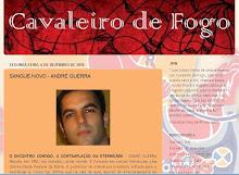 André Guerra entrevistado no Cavaleiro de Fogo