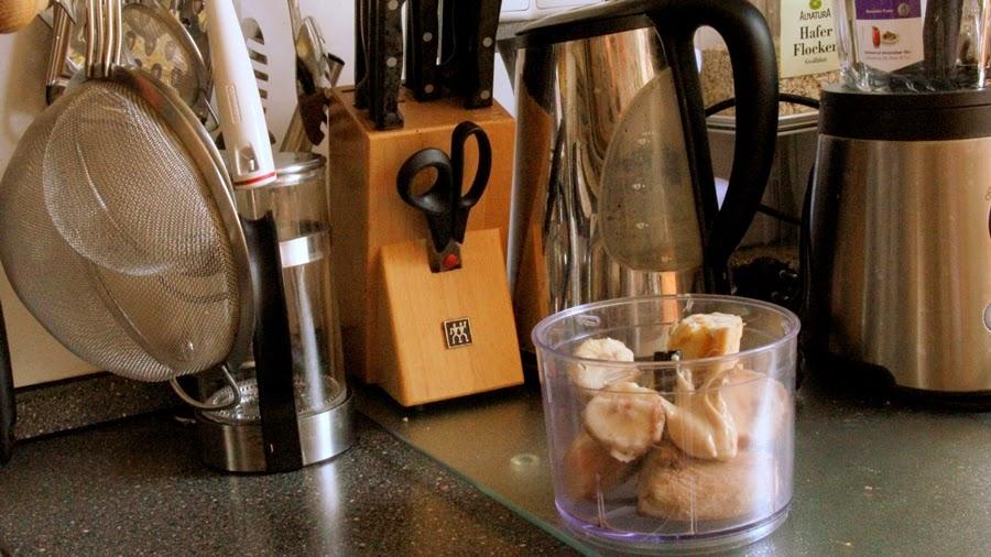 blender banana ice cream cashew butter kitchen