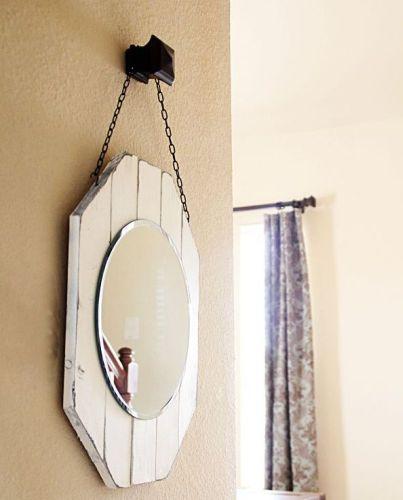 Espelho madeira pallet
