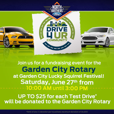 North Brothers Ford Sponsors Drive 4UR Community