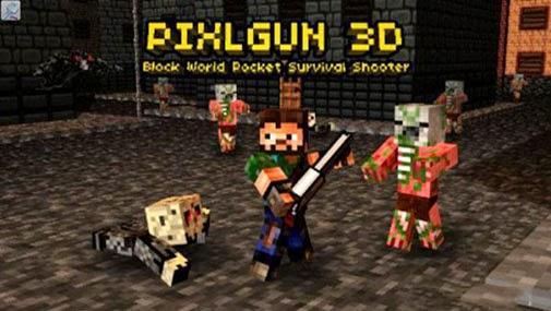 free game pixel gun 3d