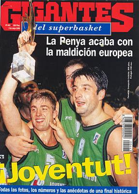 Gigantes Joventut Campeón Copa de Europa 1994