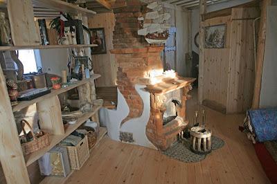 Печь на дровах. Каркасный энергопассивный дом из соломы в Минске