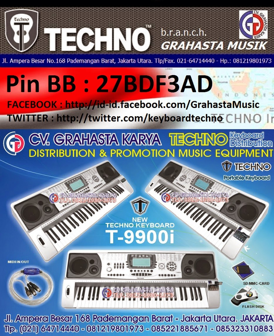 KEYBOARD TECHNO DISTRIBUTOR GRAHASTA MUSIK