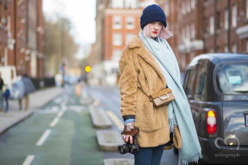 Marianne Theodorsen at London Fashion Week LFW