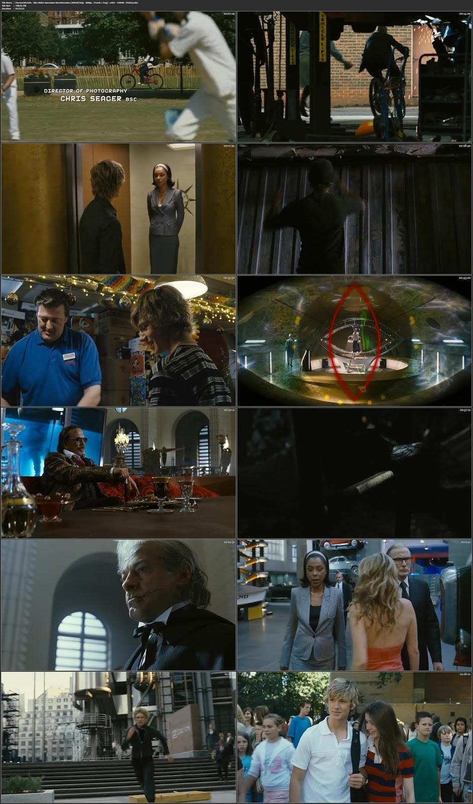 Alex Rider: Operation Stormbreaker 2006 Dual Audio Hindi ENG 720p ESubs
