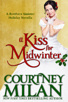 Book cover of A Kiss for Midwinter by Courtney Milan