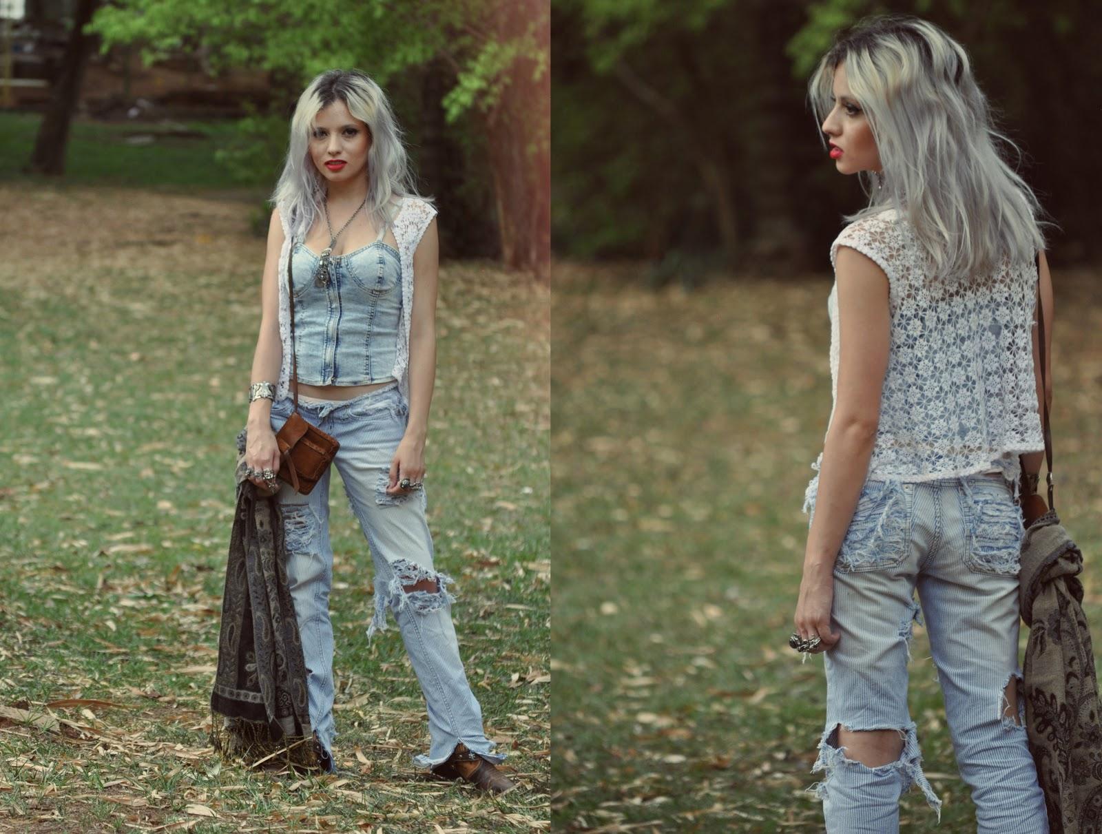 Moda profana baby firefly House jeansy