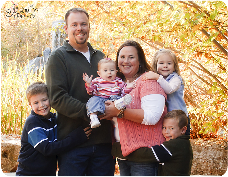 Seak Peek! Fall Family of 6 {Boise Family Photography}