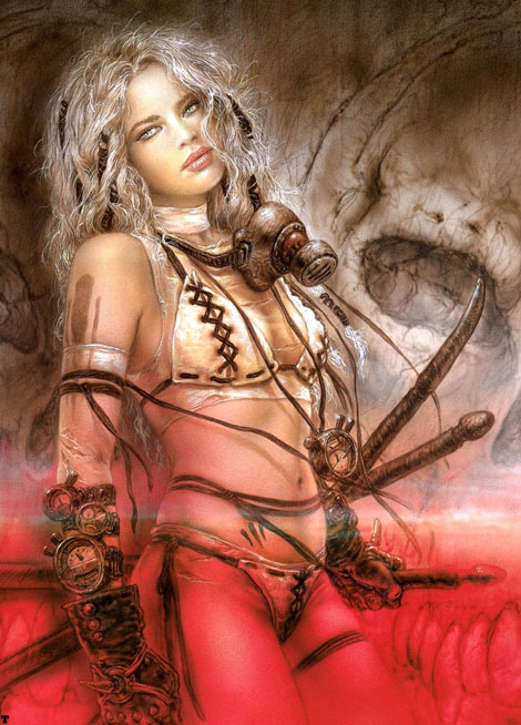 Warrior Women - Female Warriors art and pictures