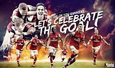 Skuad Arsenal - Wallpaper Sepakbola Terbaru 2012-2013