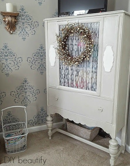 Using A Hutch In The Master Bedroom