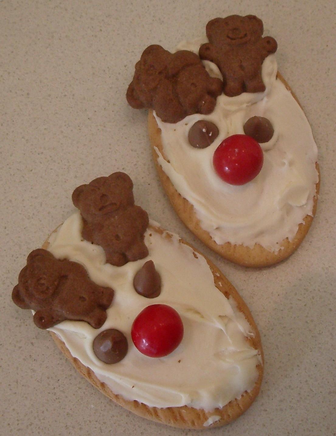 So Here S How Christmas Reindeer Tiny Teddy Cookies