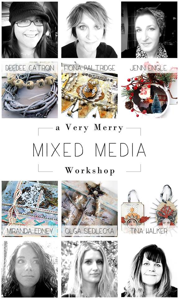 A Very Merry Mixed Media Workshop - Follow Link to Enrol Now