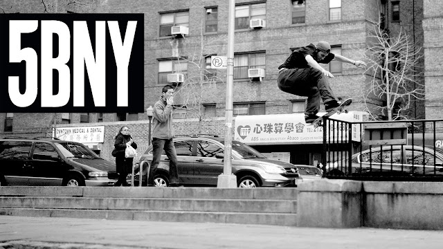 5Boros '5BNY' Skateboard Video | 30 Minuten Skate-Action in New York City