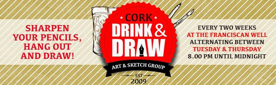 Drink & Draw Cork Facebook Group