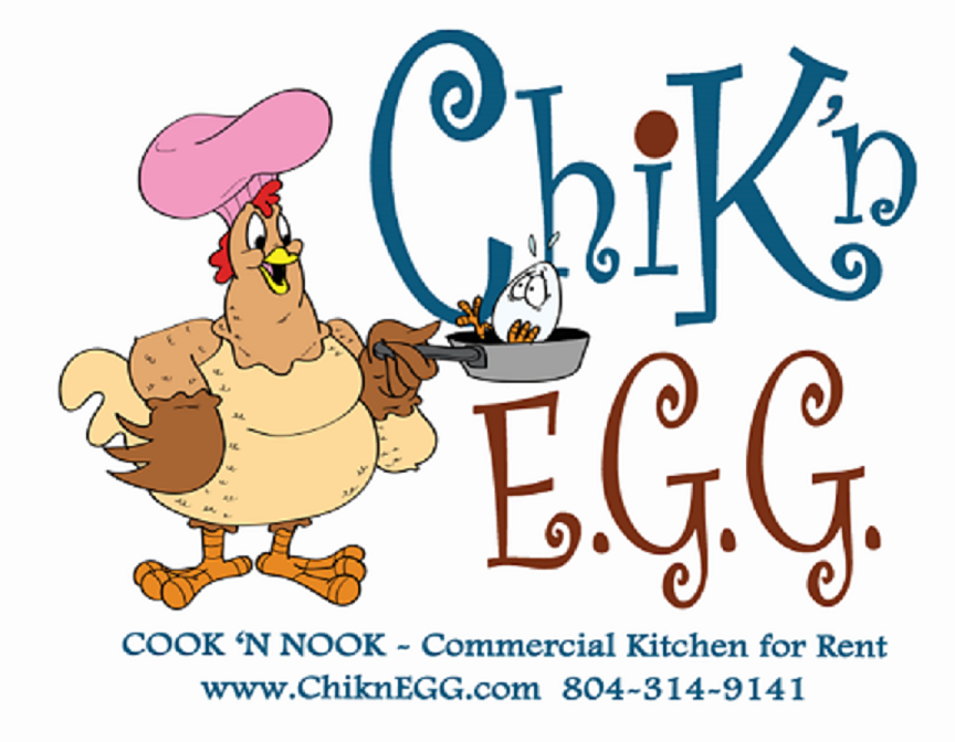 ChiknEGG's Cook 'N Nook is a commercial kitchen for rent by the hour/